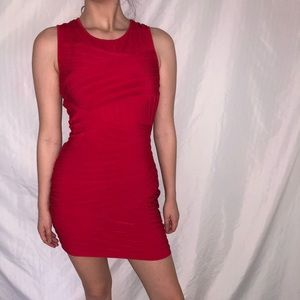 Calvin Klein Red Bodycon Dress